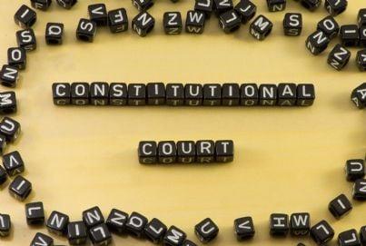 corte costituzionale in lettere