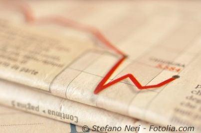 crisi economica fallimento povero finanziaria