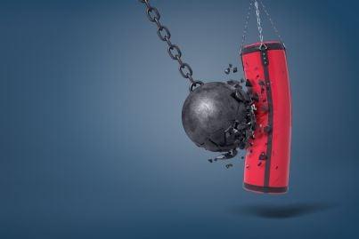 palla rompe sacco da boxe