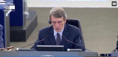 David Sassoli nuovo presidente del parlamento UE