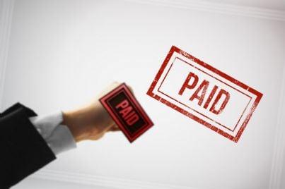 timbro per tasse pagate