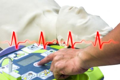 defibrillatore per soccorso