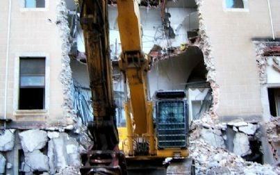 demolizione lavori
