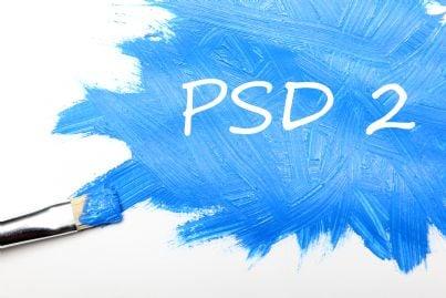 psd2 direttiva europea scritta con pennello