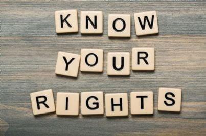 conosci i tuoi diritti