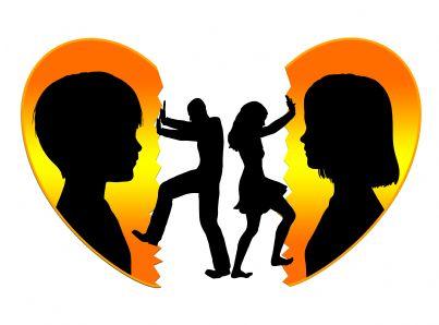 cuore spezzato dei figli per divorzio genitori