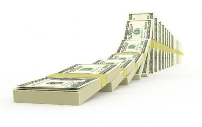 dollari in mazzette