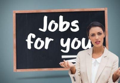 donna perplessa cerca lavoro
