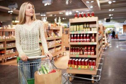 supermercato shopping consumi acquisti istat