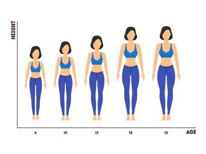 donne messe in ordine di altezza