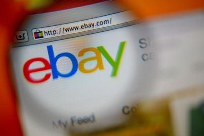 indirizzo ebay su computer