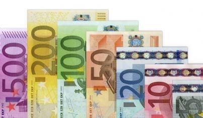 Banconote di diverso valore
