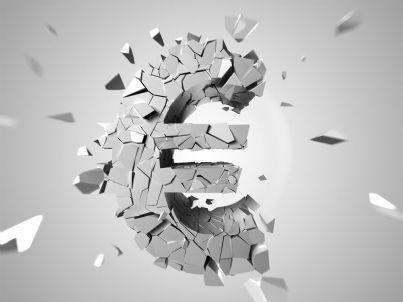 euro in frammenti per crisi