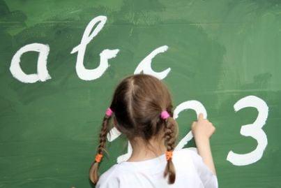 scolara scuola figli bambini