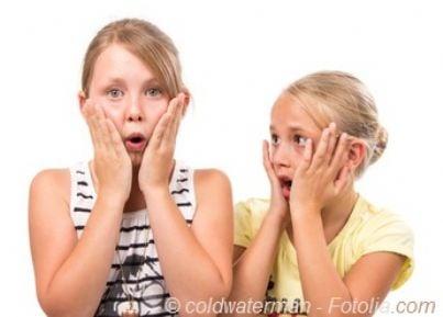figli minorenni stupiti sorpresi
