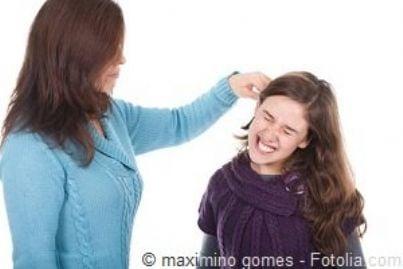 figlia minorenne correzione tirata orecchie