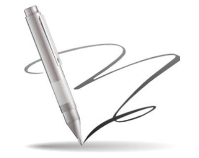 firma scrivere notaio