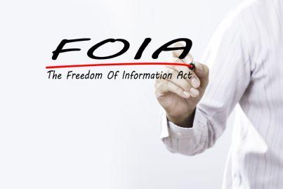 mano che scrive foia