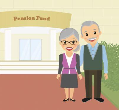 anziani con banca per fondi pensione