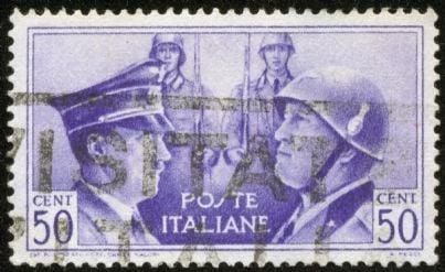 francobollo del periodo fascista nazista