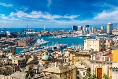 Genova in Italia