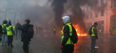 gilet gialli Francia la protesta