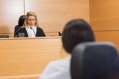 un giudice donna