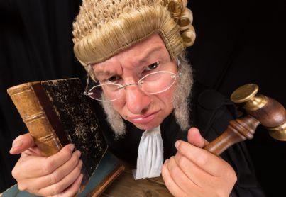 ritratto di un giudice vecchio stampo