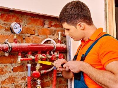 impianto idraulico installato da tecnico in condominio
