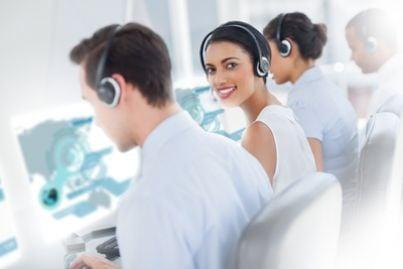 lavoro  impiegata call center