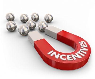 calamita che attrae incentivi