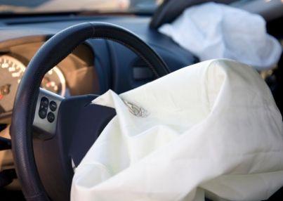 airbag aperto