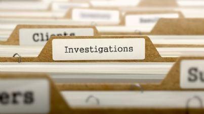 fascicolo di indagine in archivio