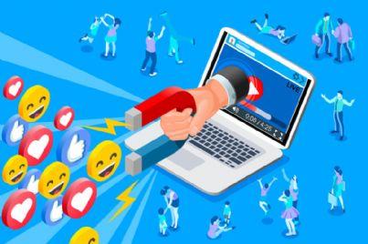 calamita che attrae utenti da influencer