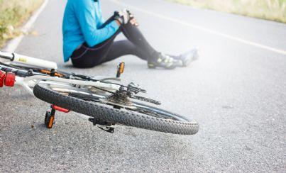 Caduta dalla bicicletta