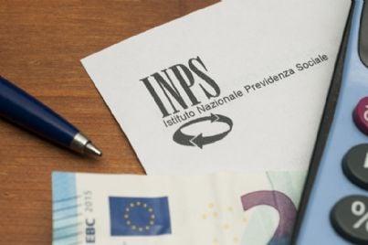 logo Inps con soldi