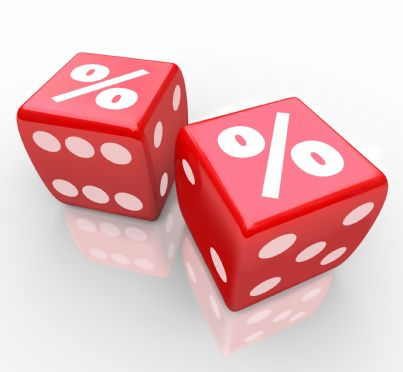 percentuale interessi su dadi