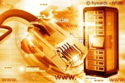 Rappresentazione grafica di internet a banda larga