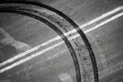 tracce di inversione su autostrada