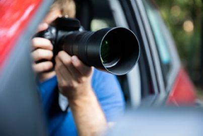 investigazioni con macchina fotografica