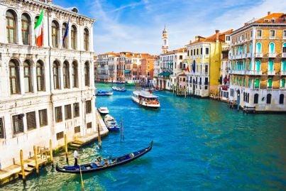 laguna di Venezia particolare canal grande