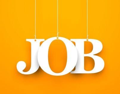 parola job su sfondo arancione