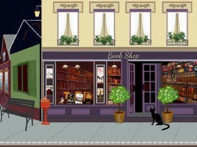 negozio di libri