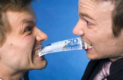 Litigano per dei soldi