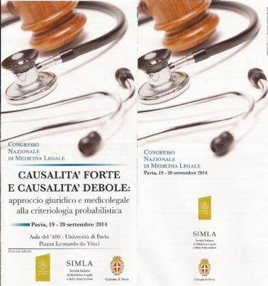 congresso nazionale medicina legale pavia