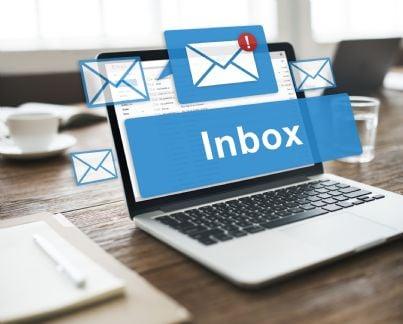 notifica di ricezione mail su computer