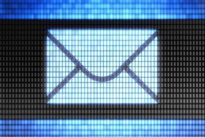 simbolo di una mail ricevuta