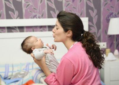 Mamma con il suo bambino