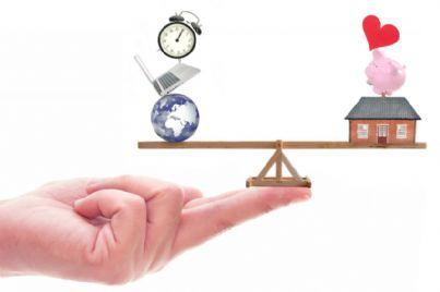 concetto di bilanciamento vita e lavoro