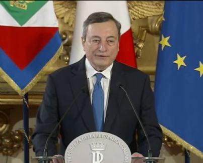 Mario Draghi al Quirinale